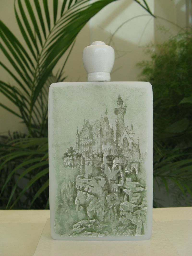 15 Schnupftabakflasche mit Kameographien 2008