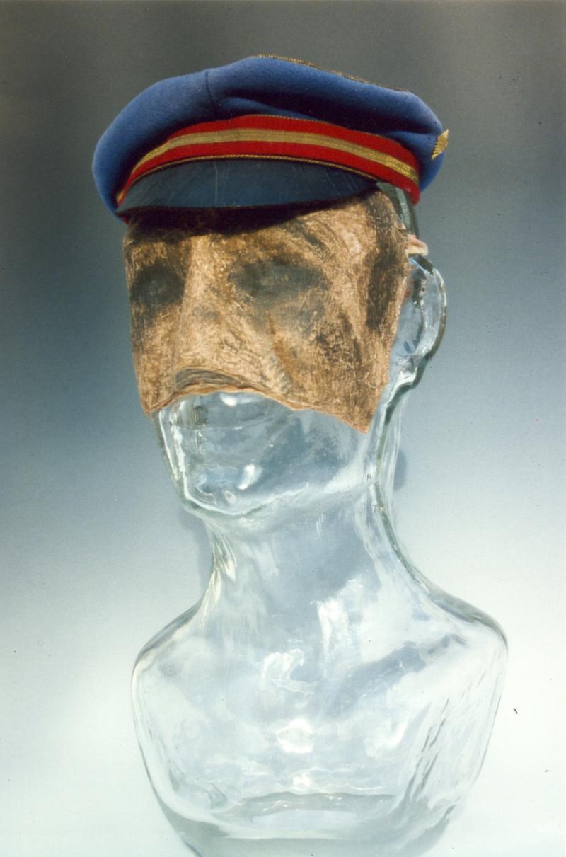 04 Der gläserne Mensch Nr1 aus der Serie Menschen 1984