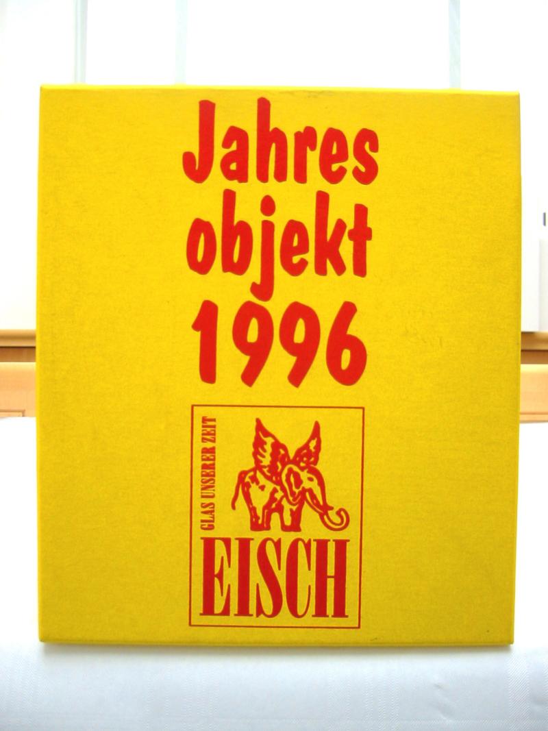 23b Teddy Eisch Jahresobjekt, 1996
