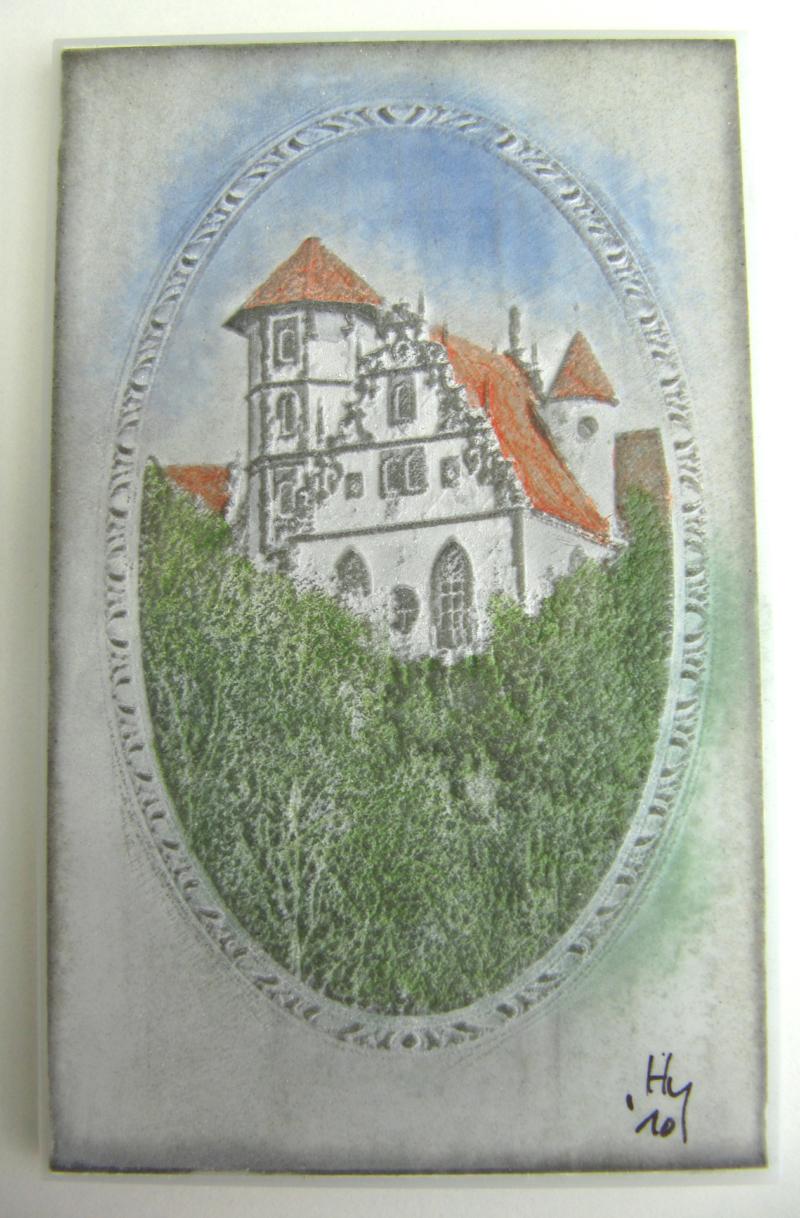 44 Schloss Liebenstein, 13,5 x 8,5 cm, 2010