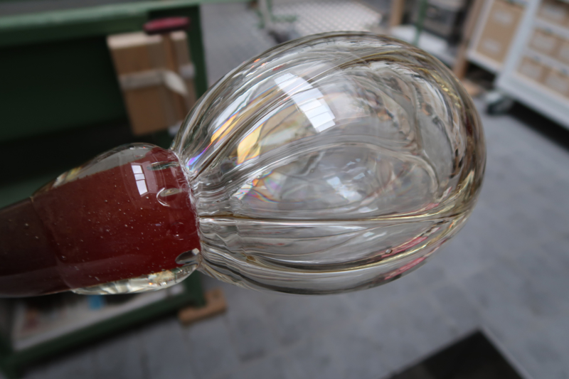 Abb 14 Blasenbildung Stufe6 mit Einschneidrille